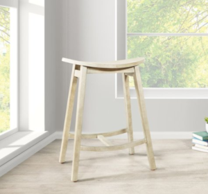 wooden saddle stools